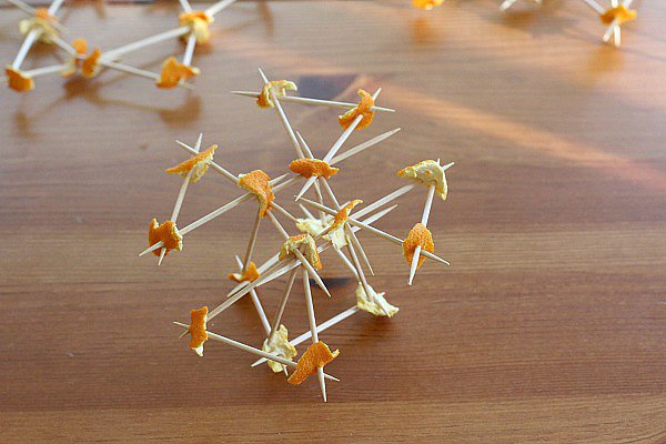 Toothpick and Orange Peel Construction