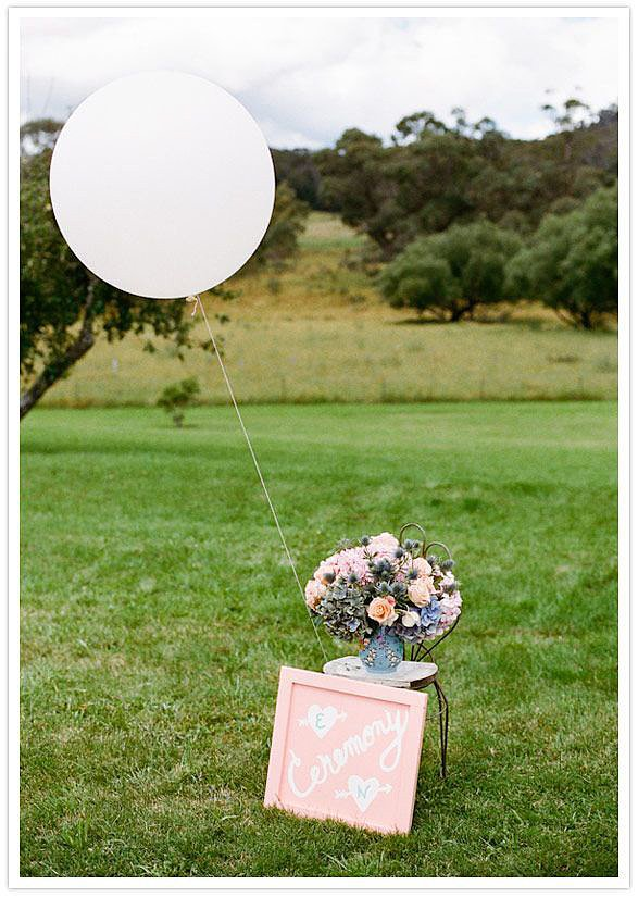 Integrate Them Into the Ceremony Sign