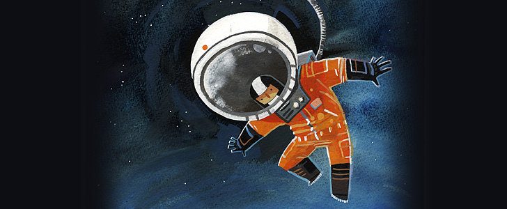 Lady Astronaut Paintings That Are Out-of-This-World Wonderful