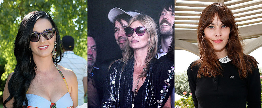 Make Like Kate Moss For Cool Festival Beauty This Weekend