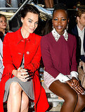 Fashion Month's Front Row Star Power