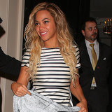 Beyonce Wears Jacket Leaving London Arts CLub