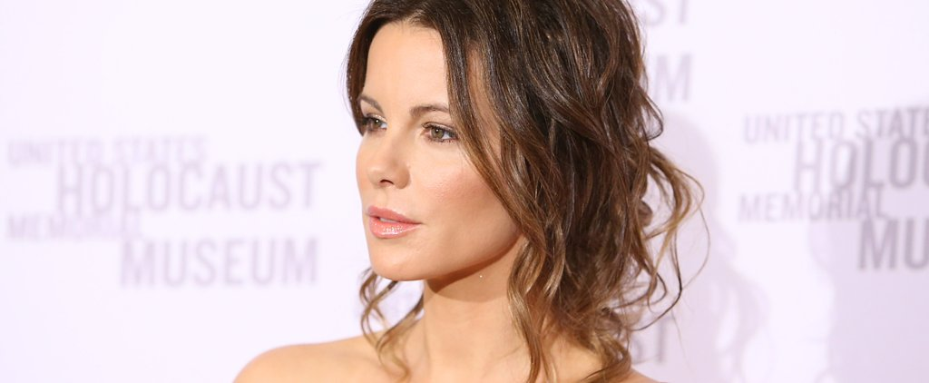 Kate Beckinsale's Is Still the Messy Updo Master