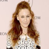 Pictures of Sarah Jessica Parker's Half-Up Hairstyle
