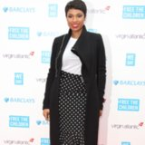 Jennifer Hudson in Polka Do