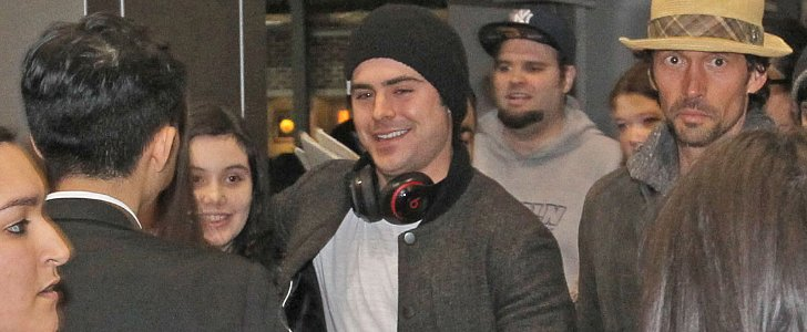 Zaz Efron Is Already Causing a Stir at SXSW