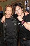 Ian Somerhalder and Kevin Bacon posed on Saturday.