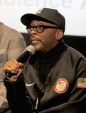 Spike Lee took the mic at the Evolution of a Criminal event on Saturday.