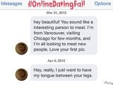 #OnlineDatingFail: Sometimes Honesty Is Not The Best Policy