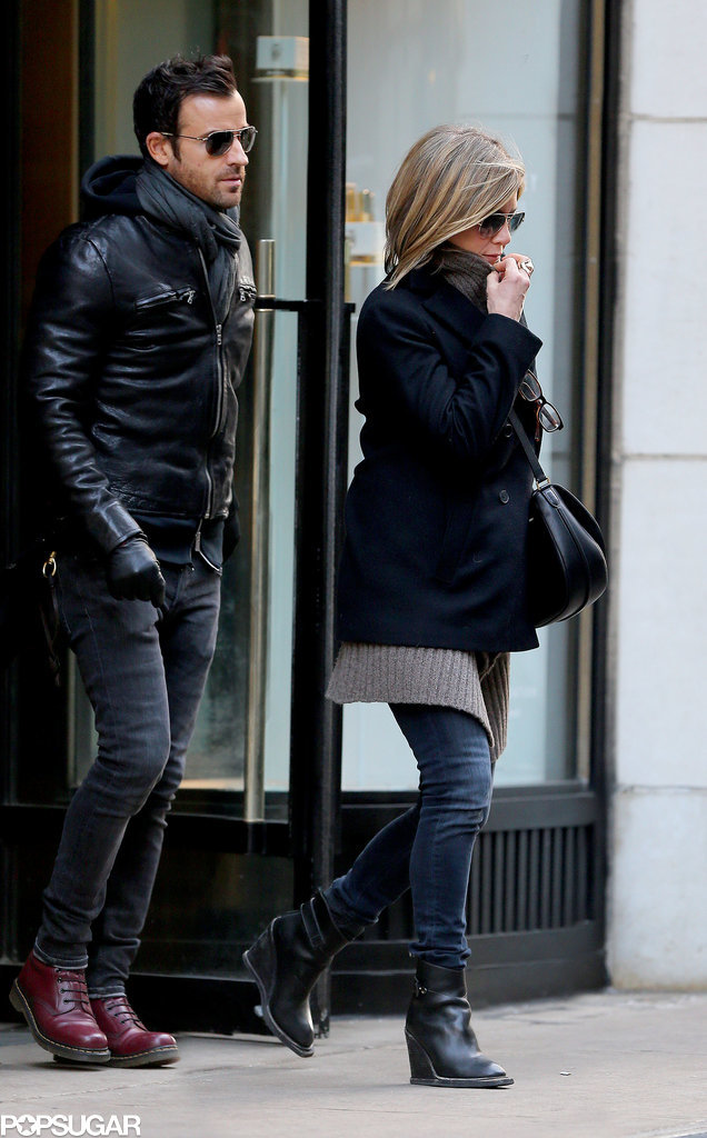 Jennifer Aniston and Justin Theroux, Together at Last!