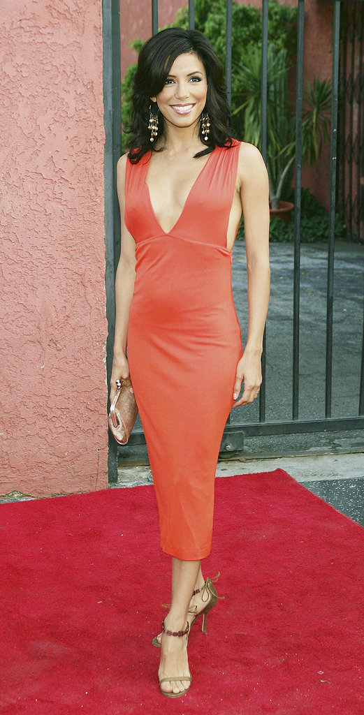 The brunette stunner put her best foot forward at the 2005 Young Hollywood Awards.