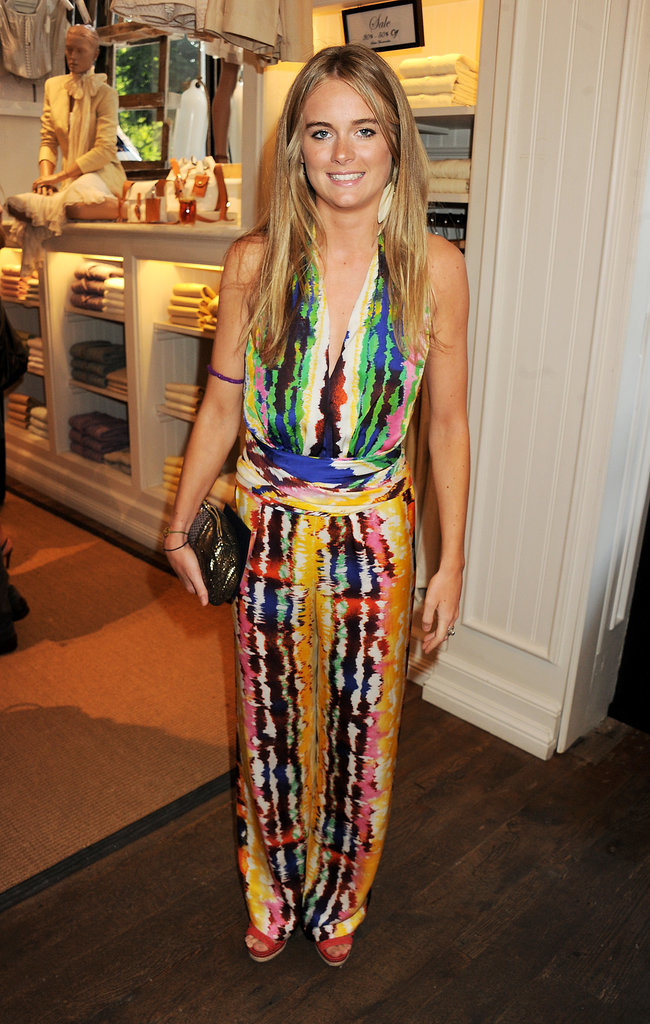Cressida Bonas at the 2011 Ralph Lauren Wimbledon Party