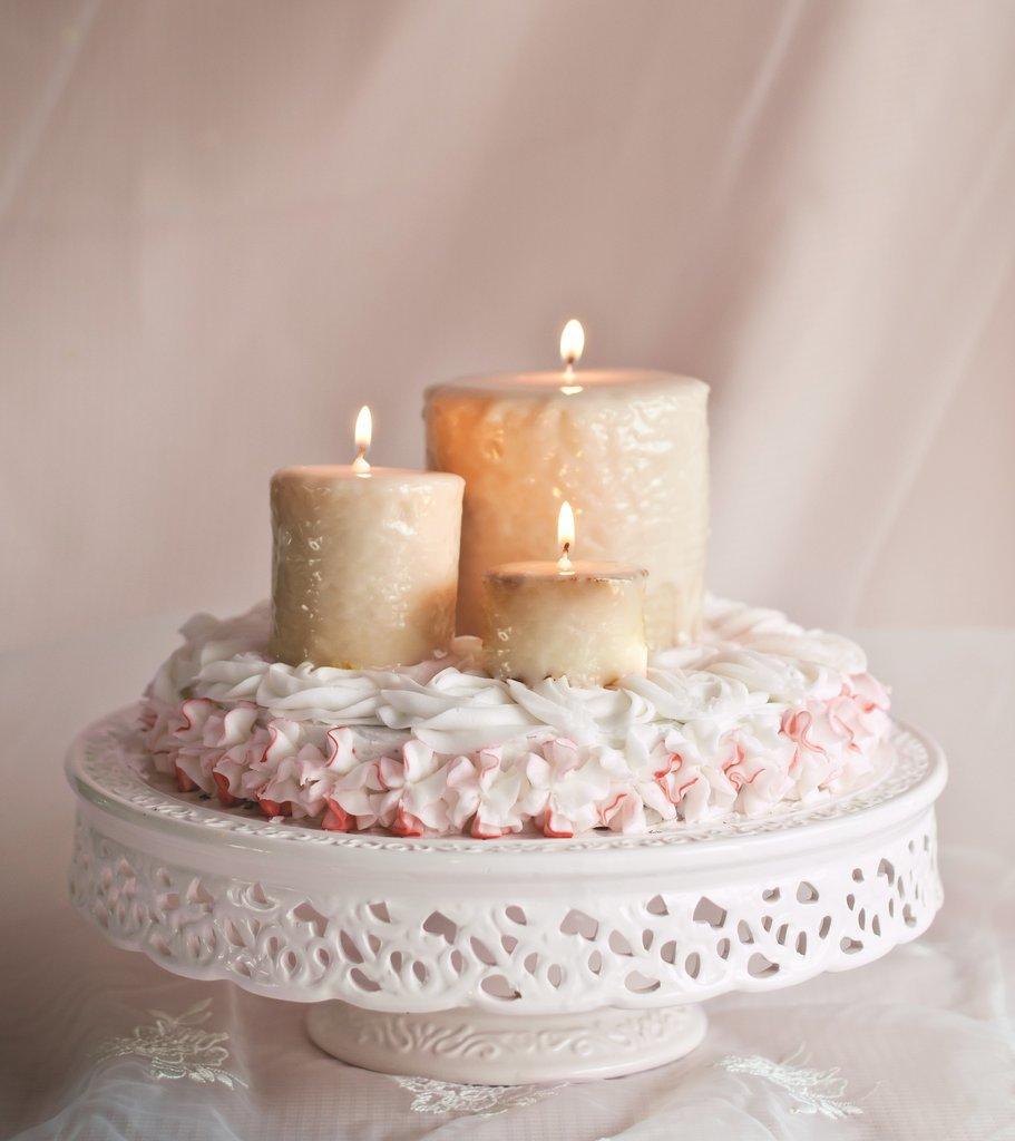 Candle Rose Cake