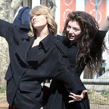 Lorde and Taylor Swift in NYC Pictures