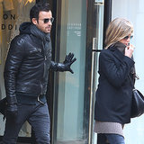 Jennifer Aniston and Justin Theroux Visit New York