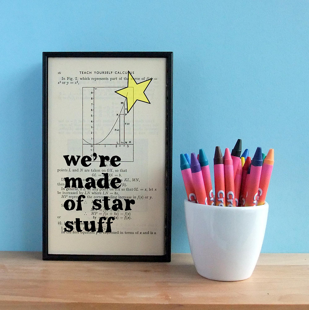 We're made of star stuff ($42)