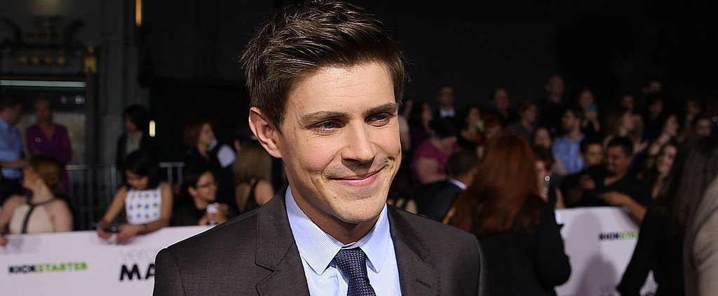 Why Chris Lowell Felt Like He Was Being Pranked at the Veronica Mars Premiere