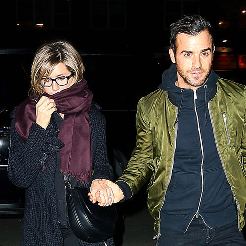 Jennifer Aniston and Justin Theroux in NYC | March 2014