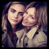The Ultimate Trio: Cara Delevingne, Kate Moss, and Burberry