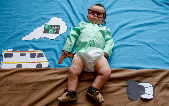 Parents Transform Their Baby Into Beloved TV Characters