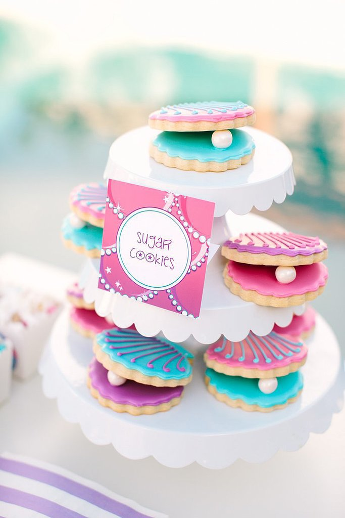 Clamshell Sugar Cookies