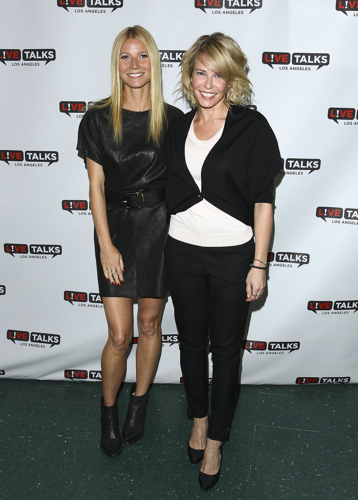 Gwyneth Paltrow and Chelsea Handler