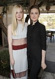 Elle Fanning and Evan Rachel Wood