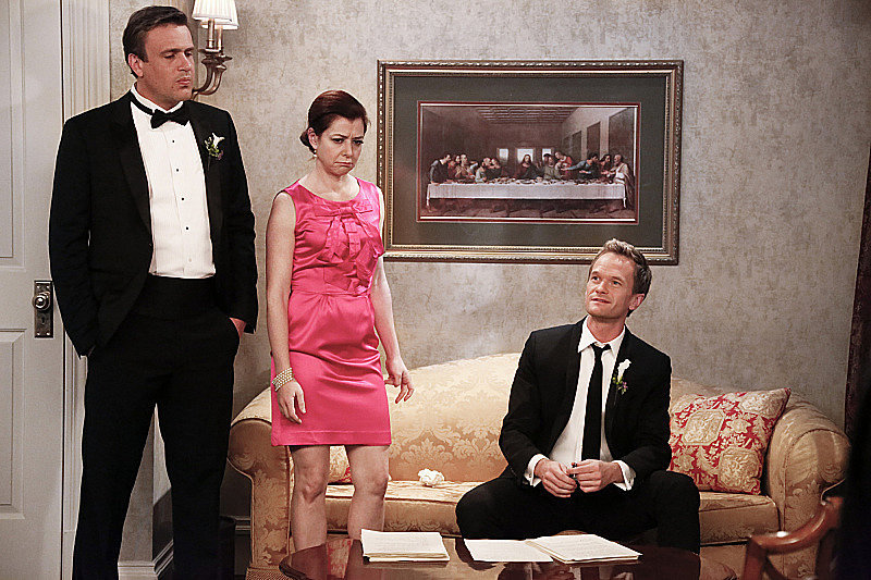 Marshall and Lily have to rethink their vows in the face of Barney's criticism