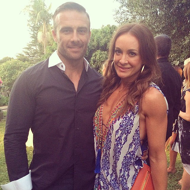 "We caught up with Michelle Bridges and Steve ""Commando"" Willis at a Marie Claire/Scholl event during the week."