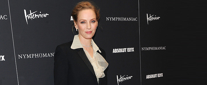 Uma Thurman Just Keeps Glowing