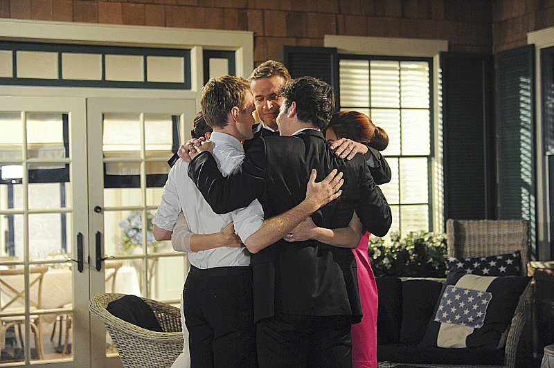 This group hug is killing me!