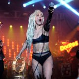 Lady Gaga Lets a Girl Vomit on Her During SXSW Show