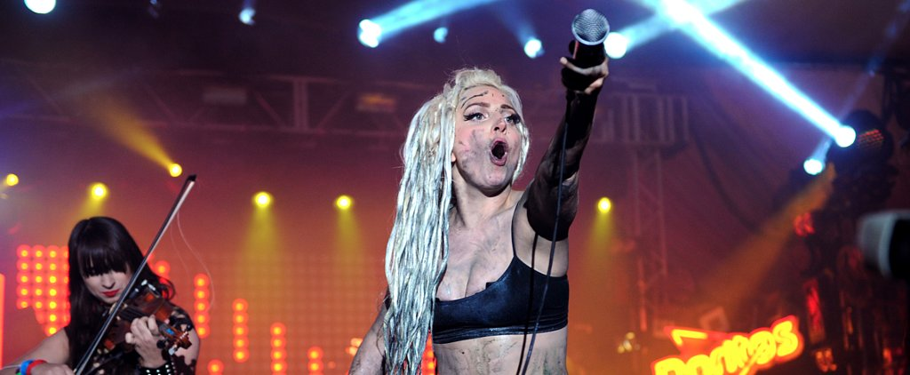 Lady Gaga Gets Puked on, and We Wonder What the World Has Come To