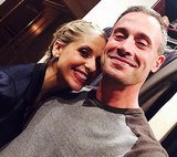 Sarah Michelle Gellar with Freddie Prinze Jr on Twitter