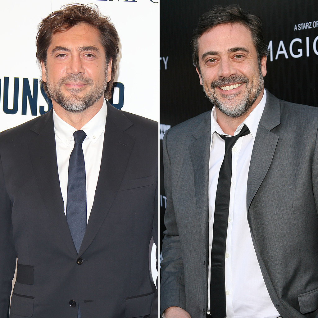 Javier Bardem and Jeffrey Dean Morgan