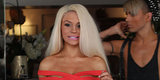 Courtney Stodden Rocks A Red Cutout Dress And Deep Tan In Beverly Hills
