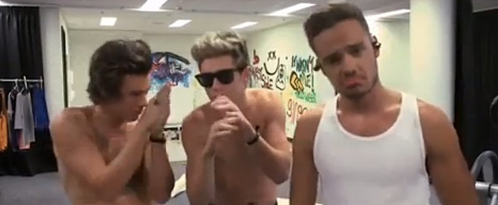 Harry Styles Goes Shirtless in a Star-Studded Music Video