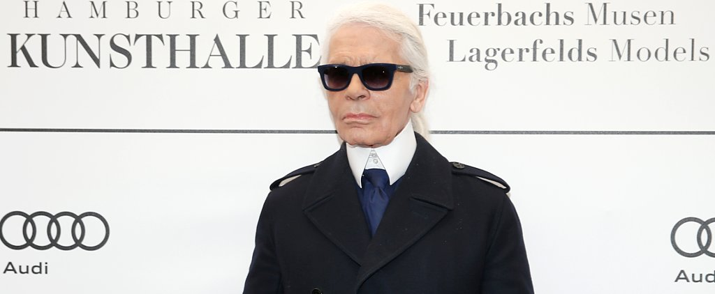 Conclusive Evidence That Karl Lagerfeld Loves a Selfie