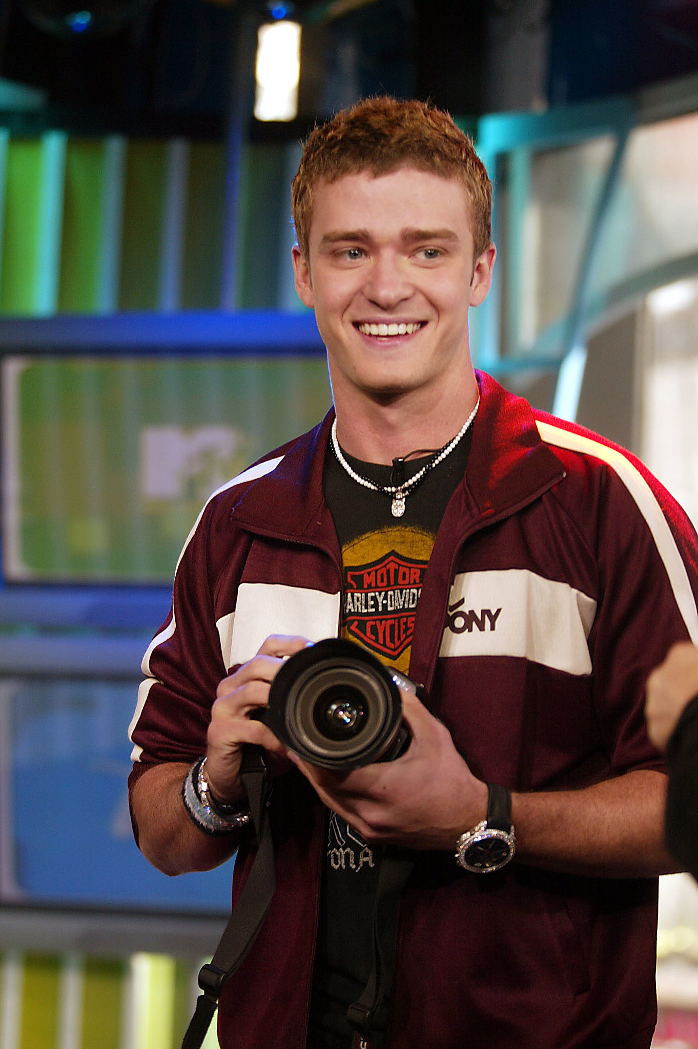 When he was on TRL.