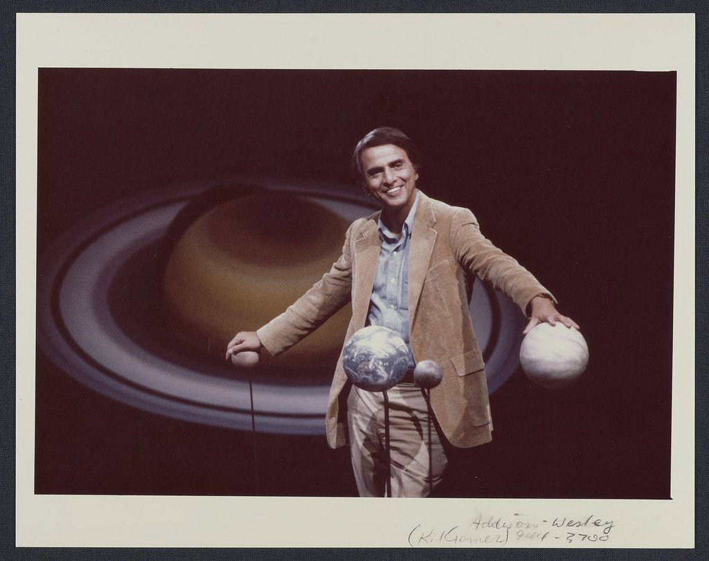 All the Ways Carl Sagan Will Rock Your World