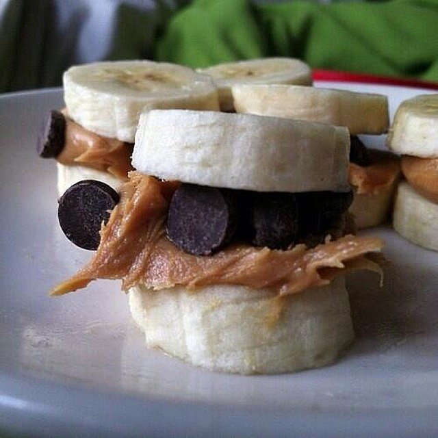 Snack idea for a protein, sugar boost. Source: Instagram user befitfoods