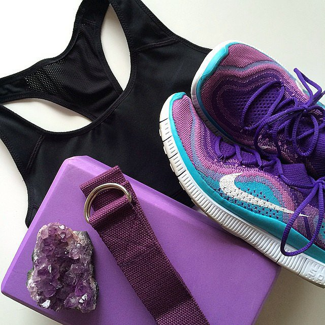 Prepare your workout gear the night before. No excuses then. Source: Instagram user slimbliss