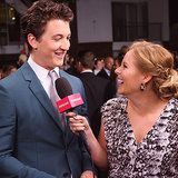 Miles Teller Interview at Divergent Premiere | Video