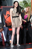 Kristen Stewart at Grauman's Chinese Theatre in 2011