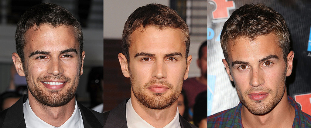 Theo James Isn't Limited to Just One Sexy Look