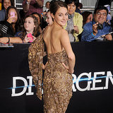 Shailene Woodley's Divergent Premiere Dress | Video