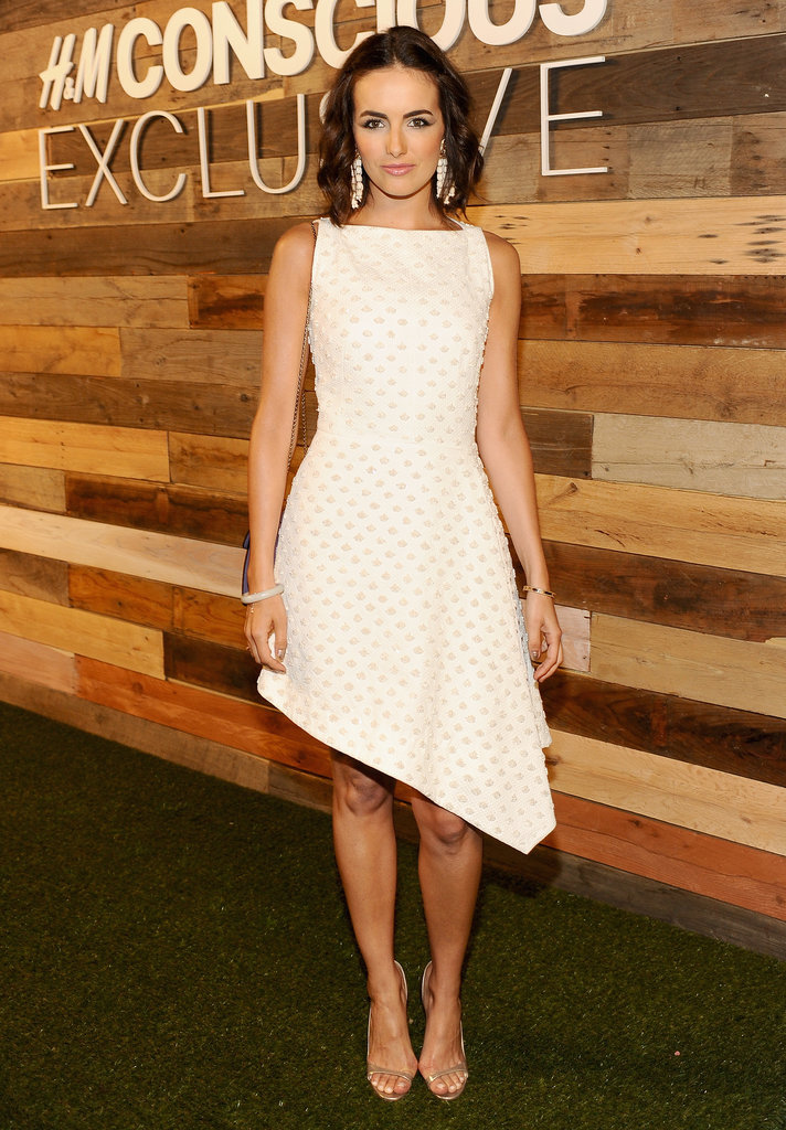 Camilla Belle Wearing H&M Conscious Collection