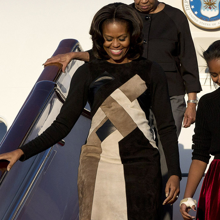 When Michelle Obama Flies, She Flies in Style