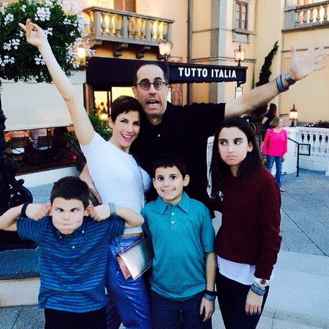 The Seinfeld family hit Disney World over Spring break. Source: Instagram user jessseinfeld