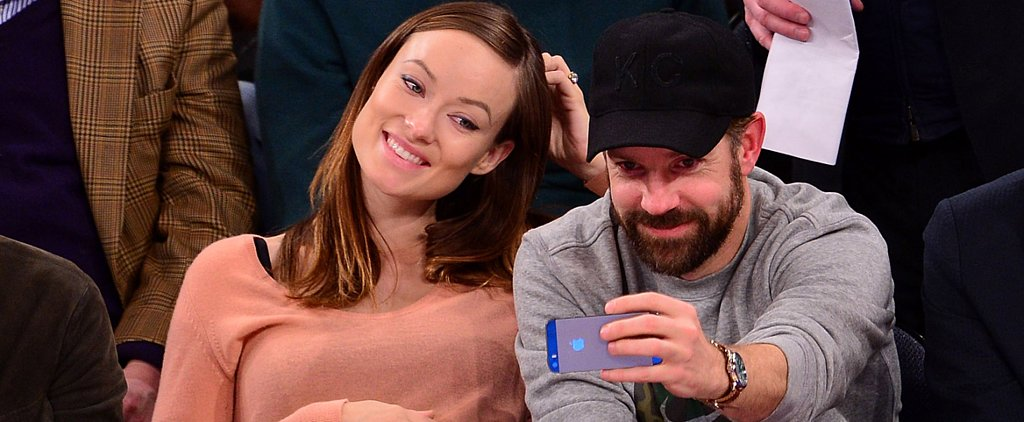 Jason Sudeikis and Olivia Wilde Get Supercute Courtside